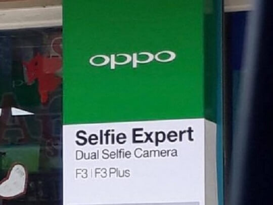 OPPO F3 and F3 Plus Coming To Philippines; Sports Dual Selfie Cameras