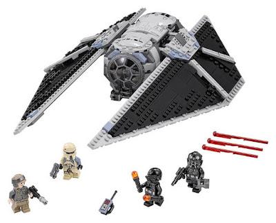 JUGUETES - LEGO Star Wars Rogue One  75154 TIE Striker  2016 | PELICULA | Piezas: 543 | Edad: 8-14 años  Comprar en Amazon España