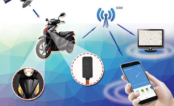 Định vị xe máy không dây - Tú Anh GPS 04