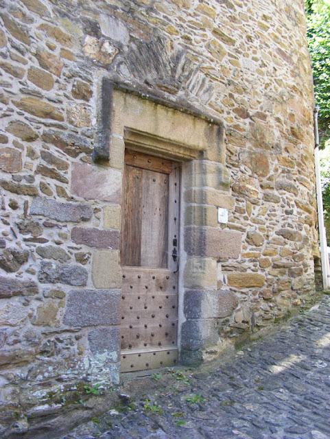 Old doorway, Ségur le Chateau, Correze, France. Photo by Loire Valley Time Travel.
