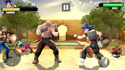 لعبة القتال و المصارعة الرائعة SPWFLRF كاملة للأندرويد - تحميل مباشر