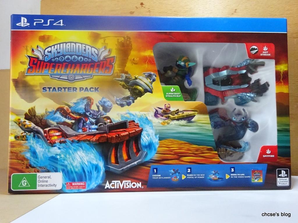 ChCse's blog: Skylanders: SuperChargers (PS4)
