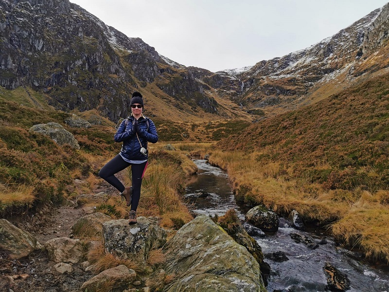 Tree pose at Corrie Fee