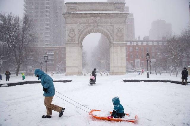 Tormenta de nieve impactará a 10 estados incluidos Nueva York y Nueva Jersey