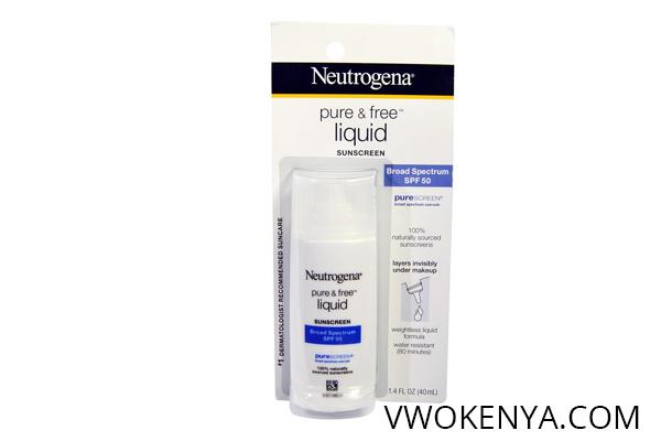Neutrogena Pure – Free Liquid SPF 50