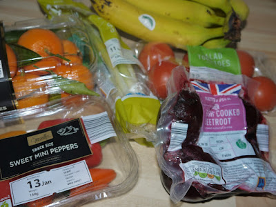 Aldi, fruit, veg, vegan