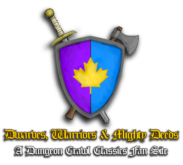 Dwarves, Warriors and Mighy Deeds: A DCC Fan Site