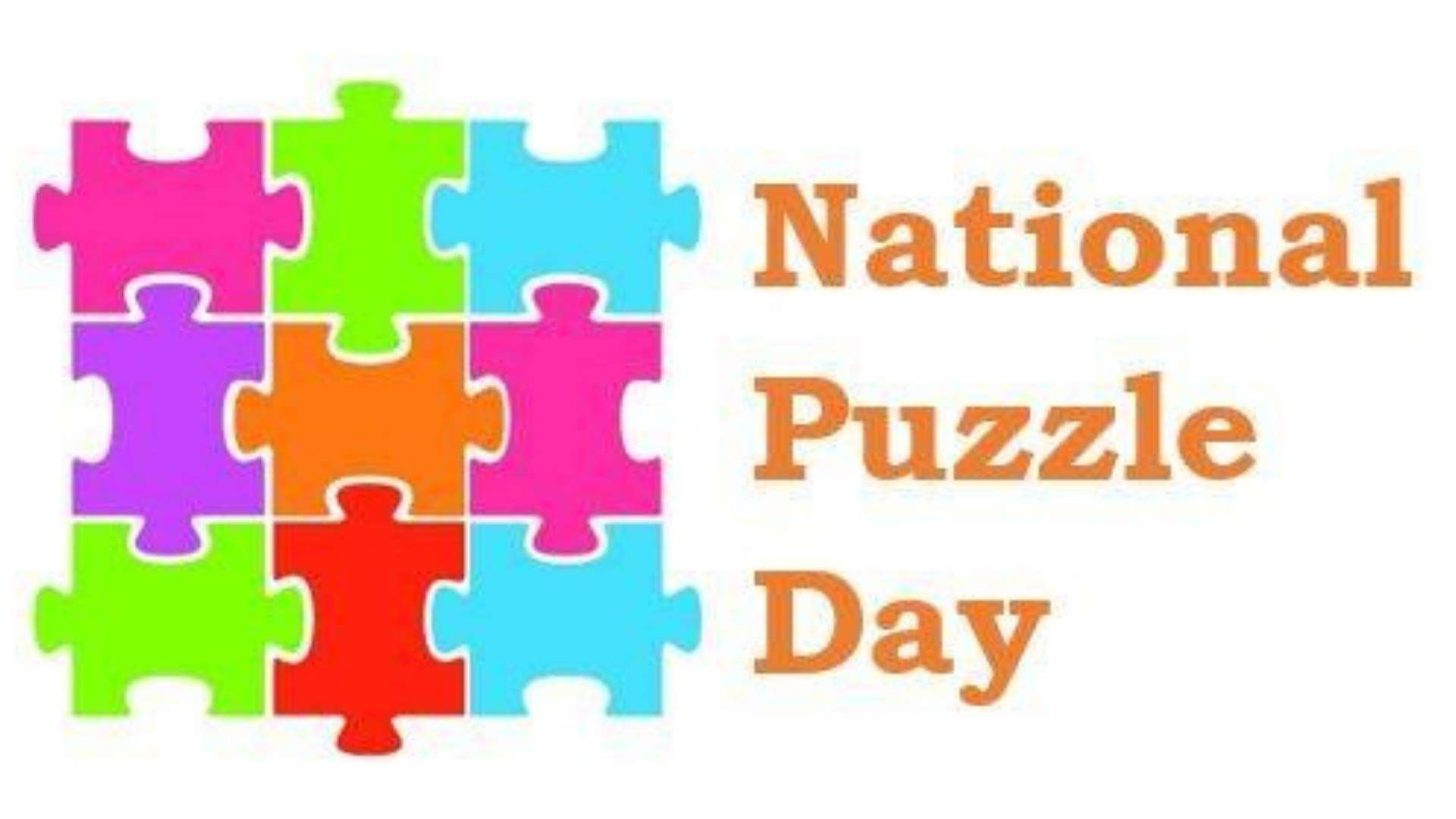 National Puzzle Day Wishes Beautiful Image