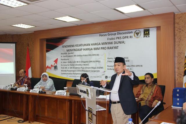 Fraksi PKS Minta Pemerintah Bersikap Arif dalam Tetapkan Harga BBM