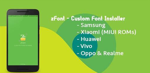 zFont - Custom Font Installer [No ROOT] 2.1.5 APK