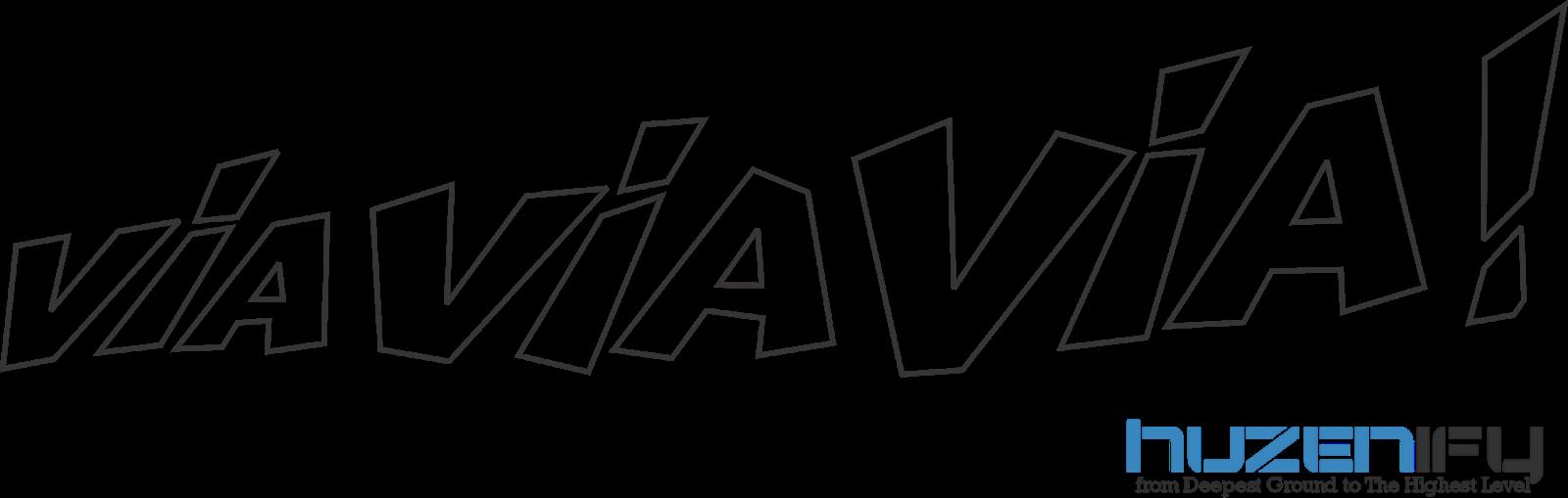 via via via logo vector png dari helm valentino rossi