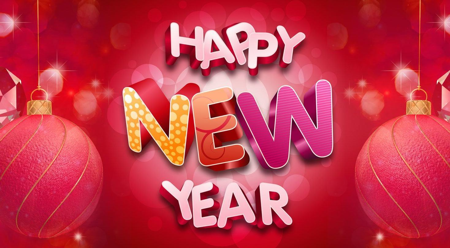 Happy New Year Wallpaper - Happy New Year 2018 | Wishes , Wallpaper ...