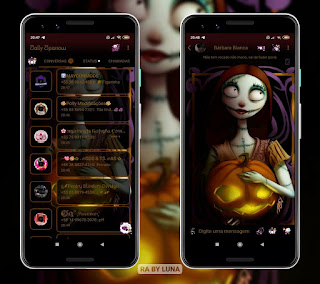 Halloween Theme For YOWhatsApp & Fouad WhatsApp By Luna