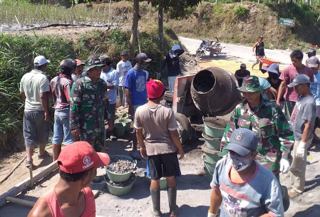 Betonisasi Jalan Di Musuk Tingkatkan Kehidupan Warga Lereng Gunung Merapi