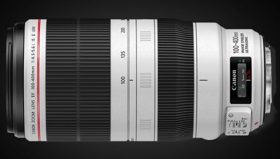 Canon EF 100-400mm f/4.5-5.6L IS II USM Zoom lens