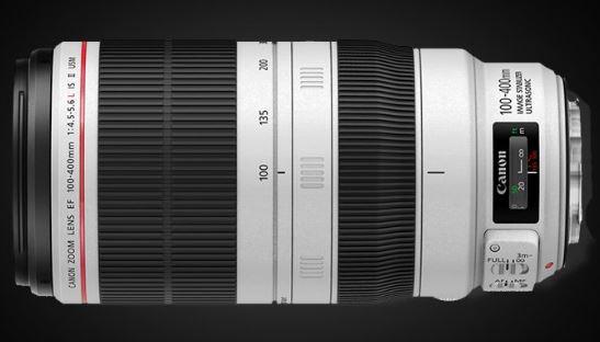 Canon EF 100-400mm f/4.5-5.6L IS II USM Zoom lens