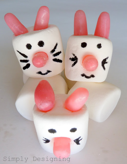 Bunnies01a Lemon & Lime Marshmallow Pops + Spring Marshmallow #EasterHOA Video 28
