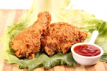 وصفة  الفراخ المقرمشة كنتاكى اللذيذ  fried chicken