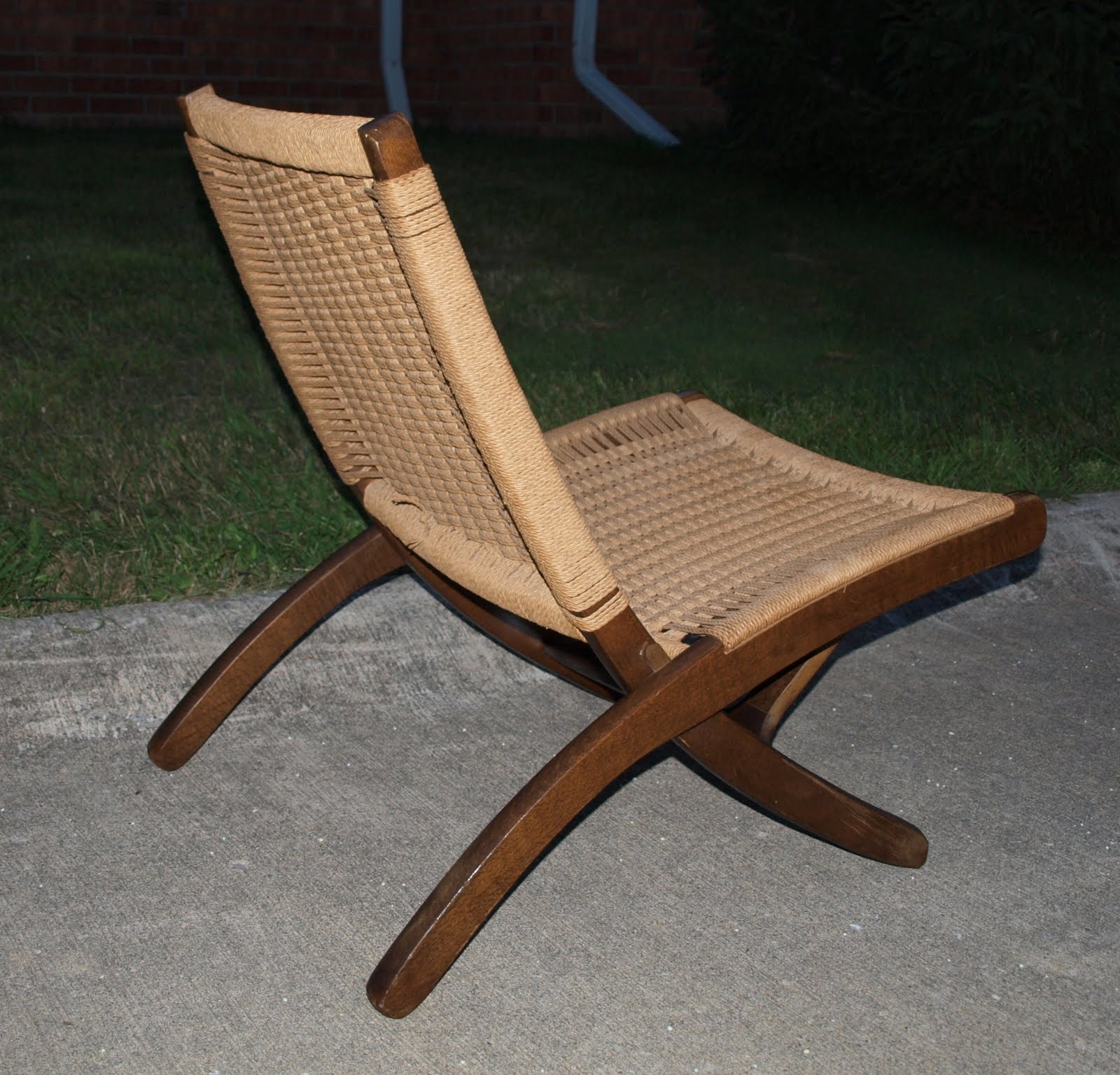 Yugoslavian Folding Chair Double Adirondack Chairs With Umbrella Funky Home Finds For Sale Wegner Style Danish Modern
