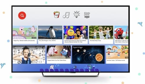 YouTube Kids offers 100 free movies for children