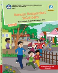 Buku tema 6 Siswa Kelas 6 k13 2018
