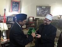 Menag RI dan Menteri Wakaf Mesir Gagas Pelatihan Dai Moderat