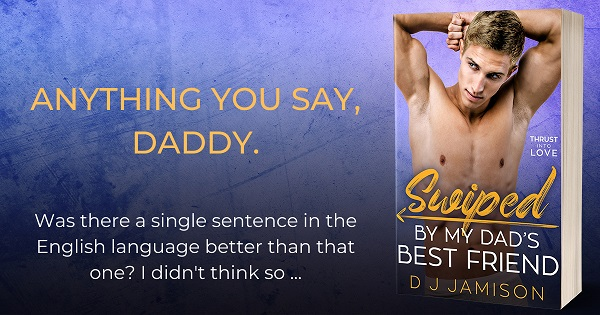 Anything you say, Daddy. Was there a single sentence in the English language better than that one? I didn't think so…