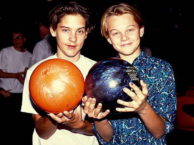 Tobey Maguire e Leonardo DiCaprio