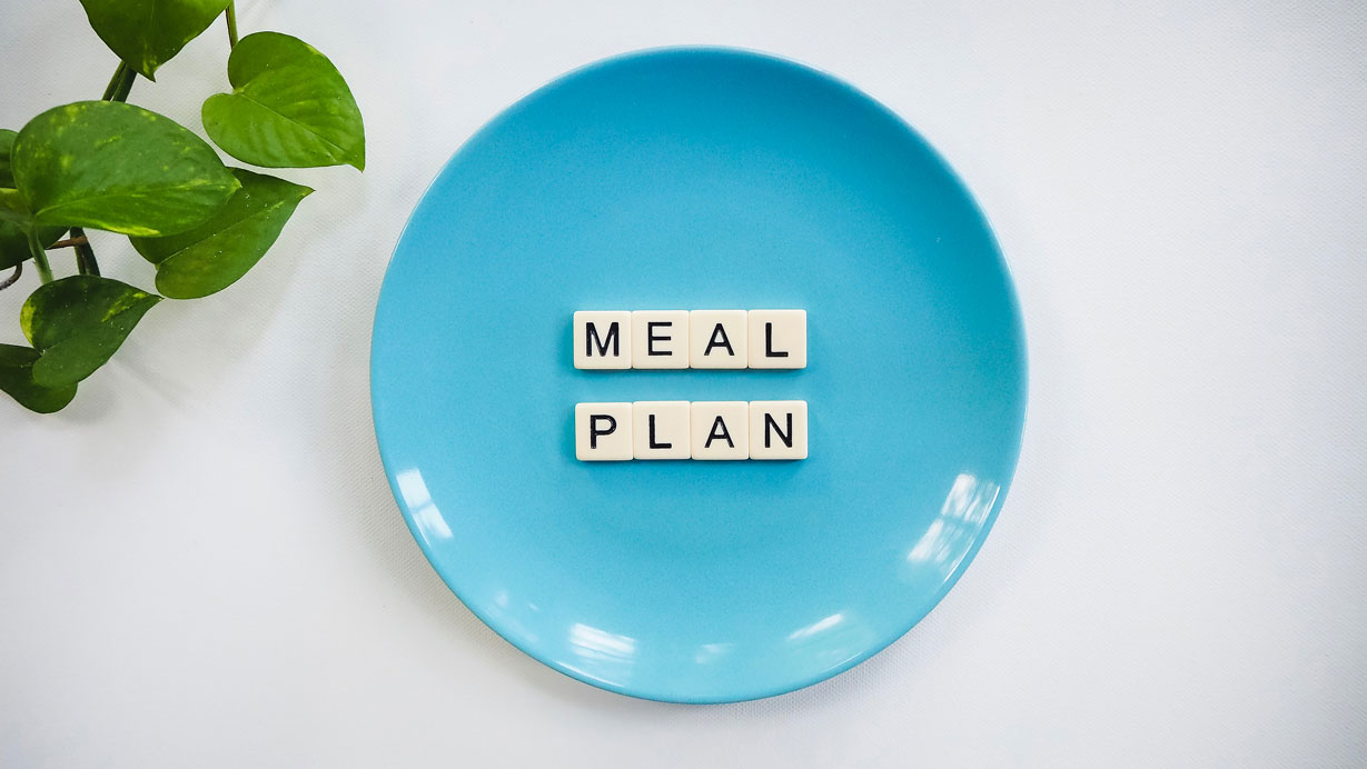 Picture showing diet plan of intermittent fasting