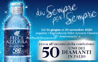 Logo Concorso Felce Azzurra '' Da sempre ...Per sempre'': vinci 50 diamanti ( € 1100 ciascuno)