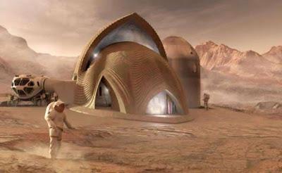 Colonia humana en Marte (Andrew Basiago)