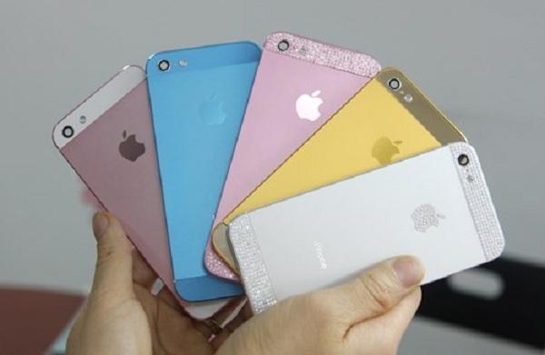 Vỏ iPhone 5 có nhiều mẫu mã đẹp