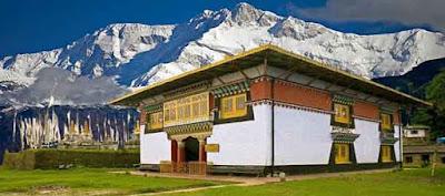 Sanga Choling monastery, Pelling