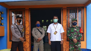 Sosialisasi PTSL Dihadiri Babinsa Koramil 414-03 / Gantung Bertempat di Gedung serba guna Desa Simpang Pesak
