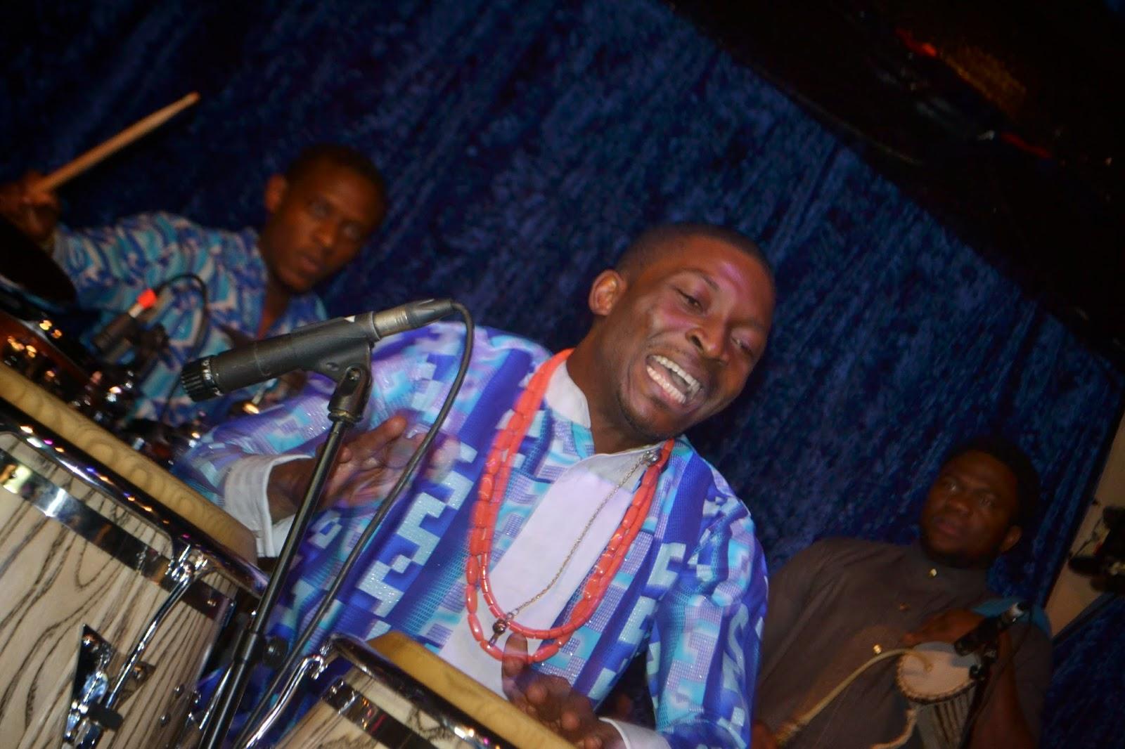 African Conga Player