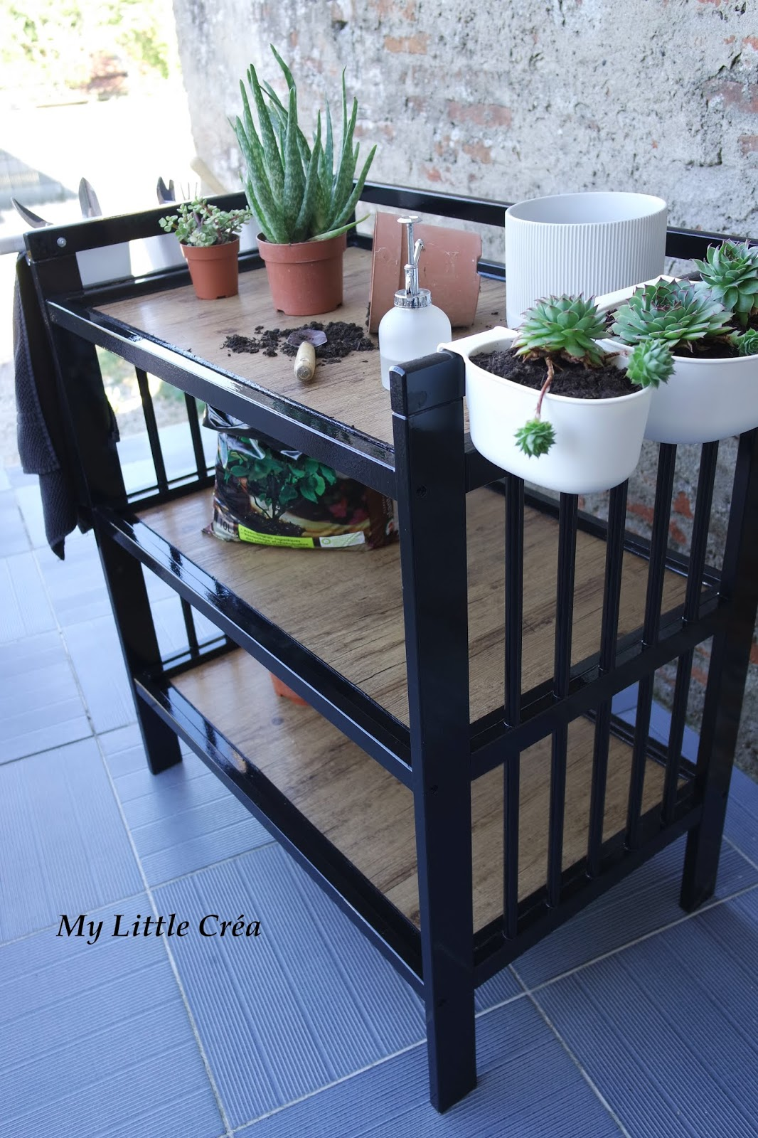 table de jardinage ikea recycler