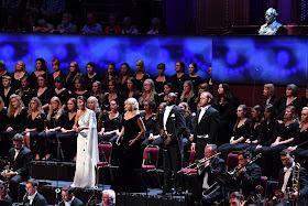 Prom 26 - Fatma Said, Kathryn Rudge, Sunnyboy Dladla, David Shipley, BBC National Orchestra of Wales, BBC National Chorus of Wales - BBC Proms (Photo BBC / Chris Christodoulou)