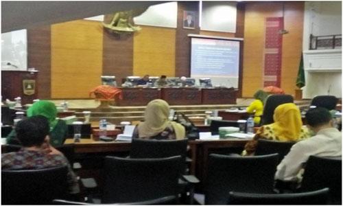 DPRD Sumbar Setujui 3 Ranperda Provinsi Dengan Berikan Beberapa Catatan