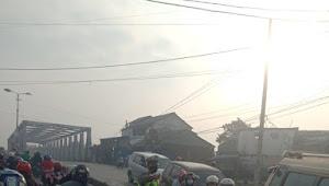 Unit Lantas Polsek Baleendah Polresta Bandung Gatur Lalu-lintas Pagi