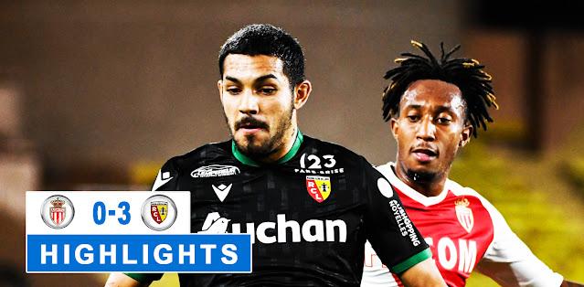 Monaco vs Lens – Highlights