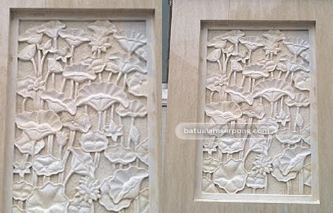 relief batu alam bali