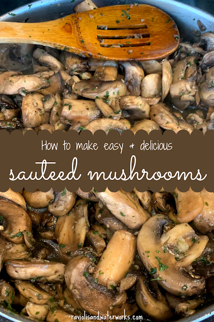 mushrooms for hamburger; barbecue side mushrooms; recipe for sauteed mushrooms