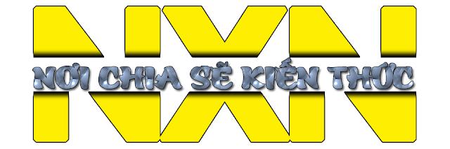 logo chữ tạo bằng photoshop