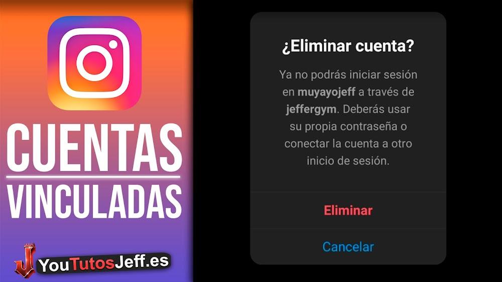 Como Eliminar Cuentas Vinculadas Instagram