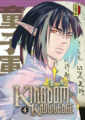 Couverture du manga Kingdom of knowledge tome 4