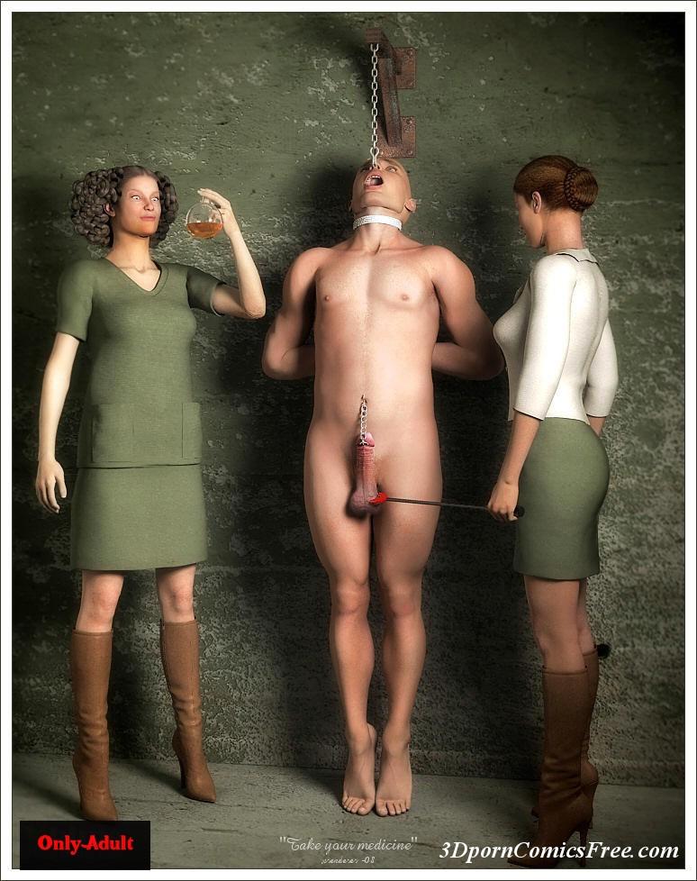 Think, that amazon women naked men seems excellent