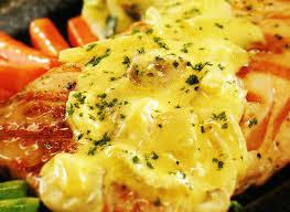 Resep Masakan Salmon Panggang Keju