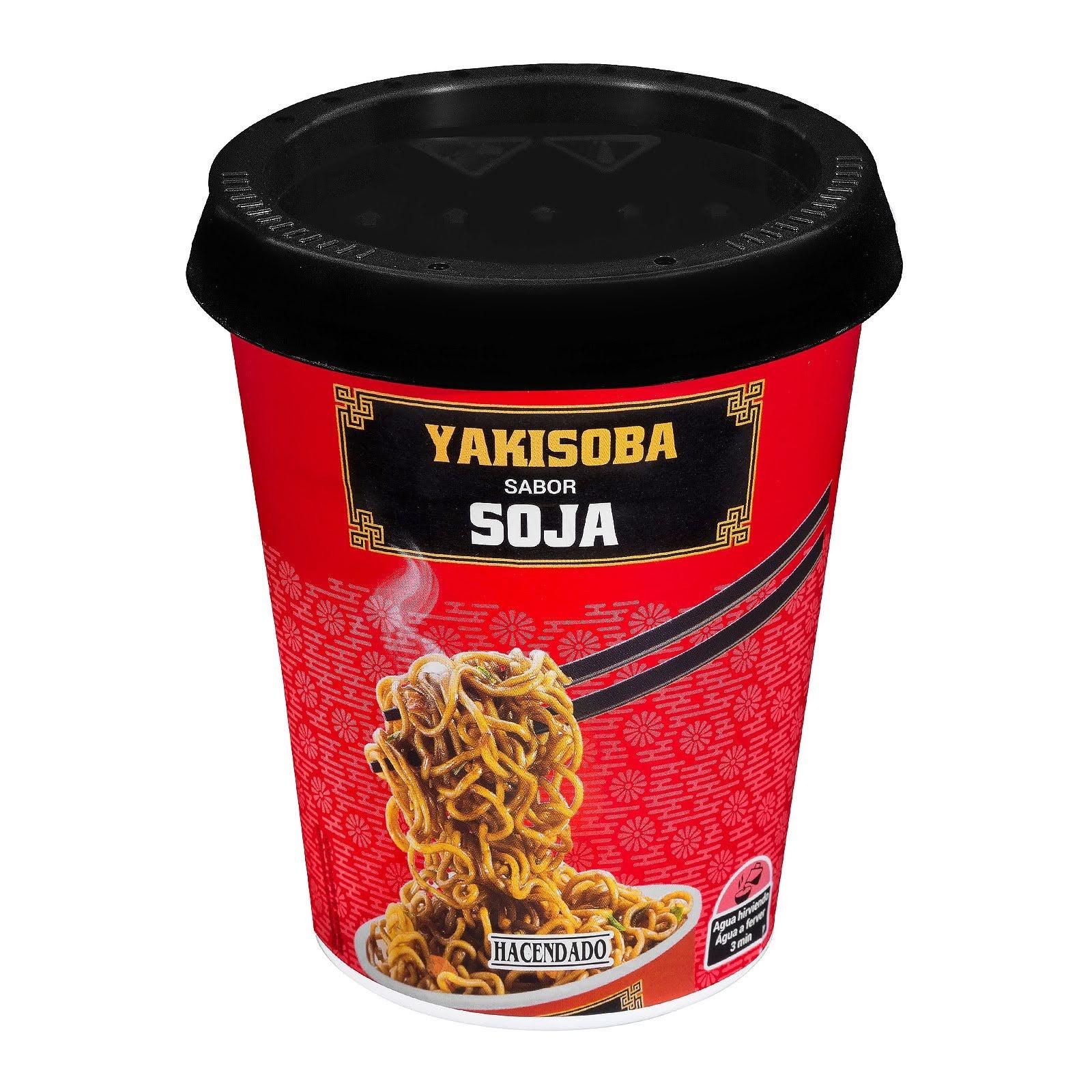 Yakisoba sabor soja Hacendado