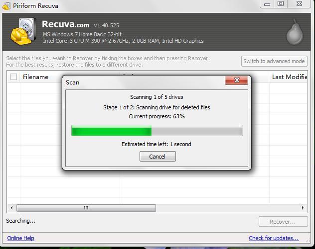 recuperar archivos borrados memoria usb