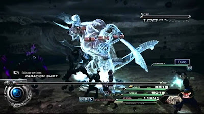 Final Fantasy XIII-2 Narasimha tamed